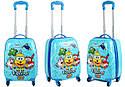 Детский дорожный чемодан 28л с рисунком, фото 7