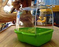Купалка для попугая. Nobby прозрачный пластик