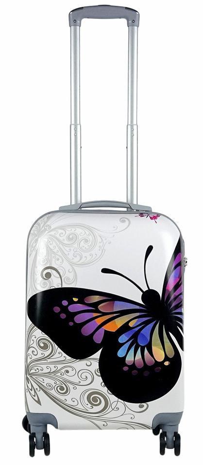 Дорожный чемодан 92л с рисунком
