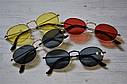 Солнцезащитные очки овальные с цветной линзой, фото 8