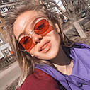 Солнцезащитные очки овальные с цветной линзой, фото 9
