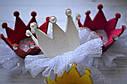 Корона на голову  детская на заколке 4 вида, фото 4