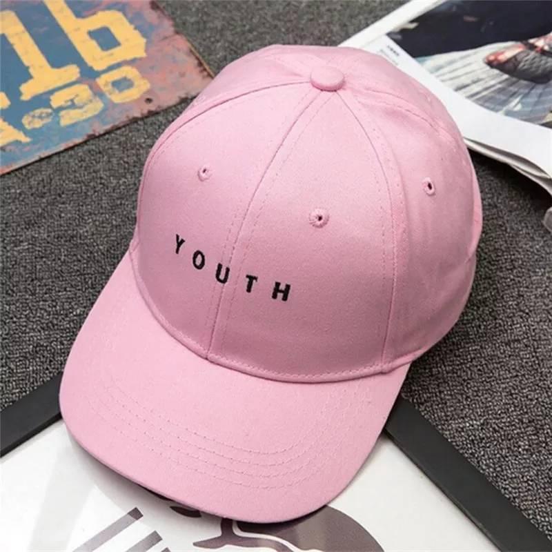 Кепка бейсболка Youth Розовая, Унисекс