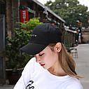 Кепка бейсболка Youth Розовая, Унисекс, фото 5