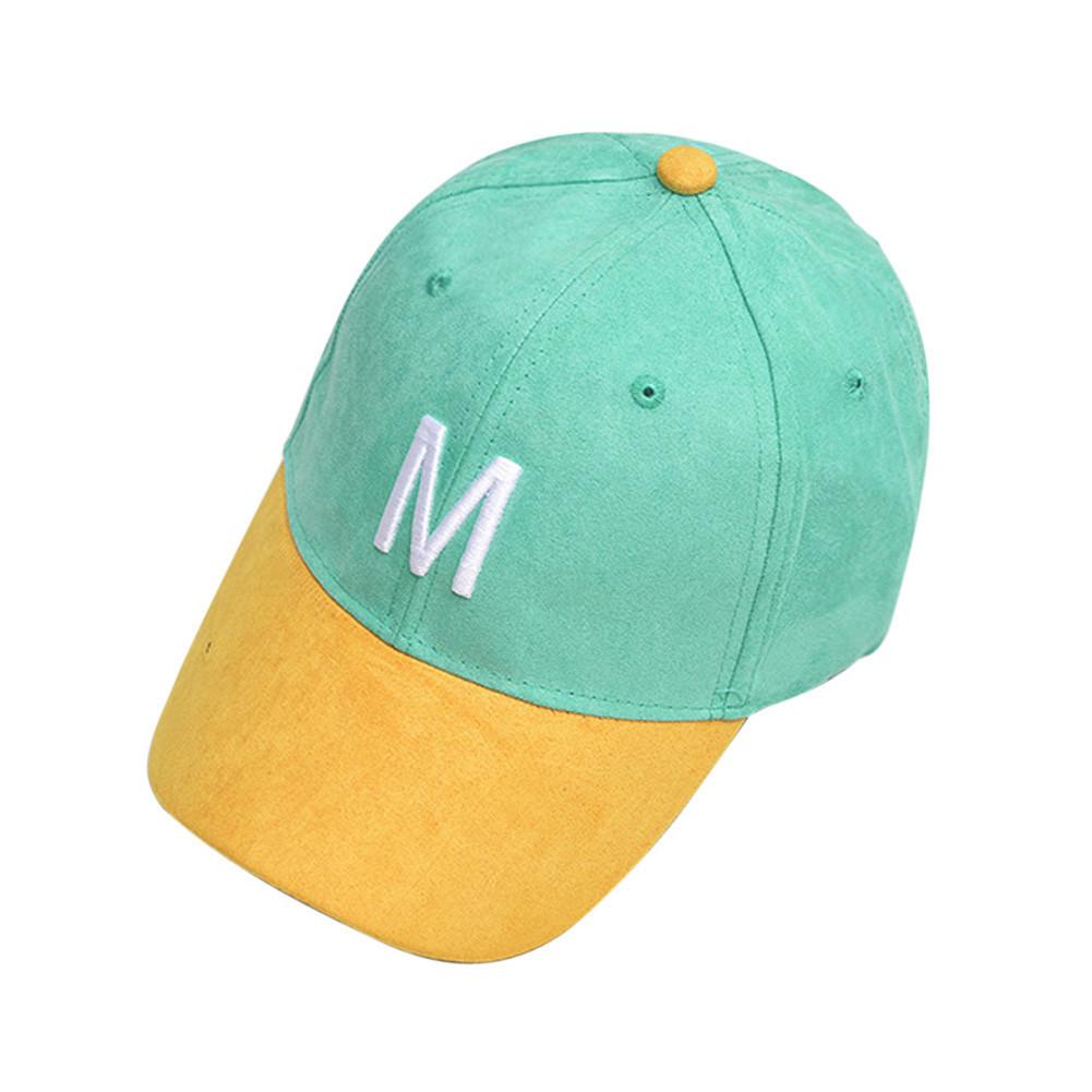 Кепка бейсболка M искусственная замша, Унисекс