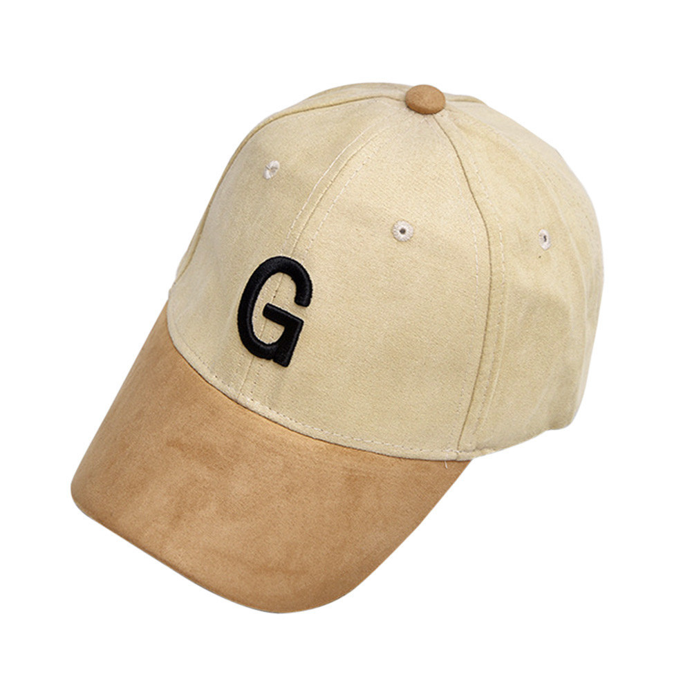Кепка бейсболка G искусственная замша, Унисекс