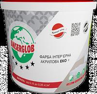 Краска интерьерная ANSERGLOB ЭКО+ акриловая (1,4кг)
