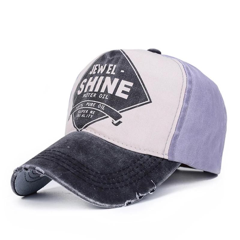 Кепка бейсболка Shine Фиолетовая, Унисекс