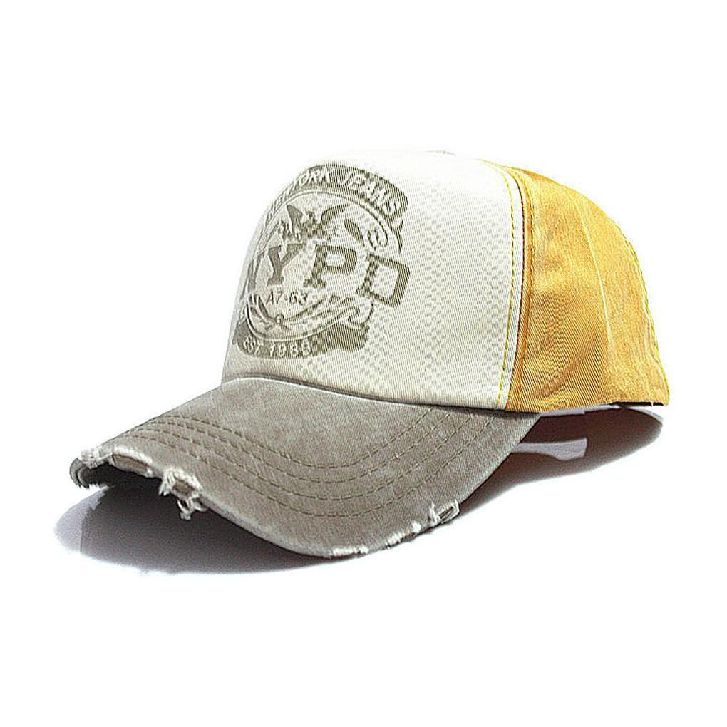 Кепка бейсболка New York Police Department (NYPD) Желтая, Унисекс