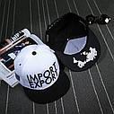 Кепка снепбек Import Export с прямым козырьком, Унисекс, фото 3