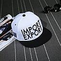 Кепка снепбек Import Export с прямым козырьком, Унисекс, фото 5