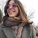 Круглые очки тишейды с цветной линзой с градиентом, фото 6