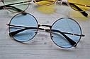 Солнцезащитные очки тишейды с цветной линзой Сиреневый, фото 3