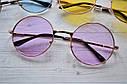 Солнцезащитные очки тишейды с цветной линзой Желтый, фото 2
