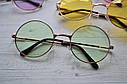 Солнцезащитные очки тишейды с цветной линзой Желтый, фото 3