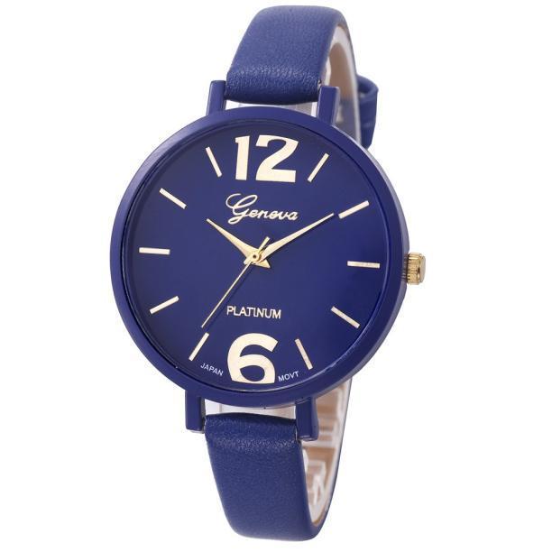 Женские наручные часы Geneva, Синий