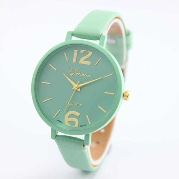 Женские наручные часы Geneva, Бирюзовый