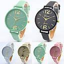Женские наручные часы Geneva, Желтый, фото 3