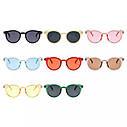 Стильные  солнцезащитные очки  в цветной оправе Голубой, фото 4