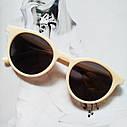 Стильные  солнцезащитные очки  в цветной оправе Зелёный, фото 2