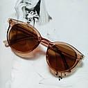 Стильные  солнцезащитные очки  в цветной оправе Зелёный, фото 5