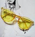 Стильные  солнцезащитные очки  в цветной оправе Зелёный, фото 6