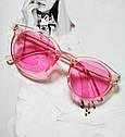Стильные  солнцезащитные очки  в цветной оправе Зелёный, фото 7