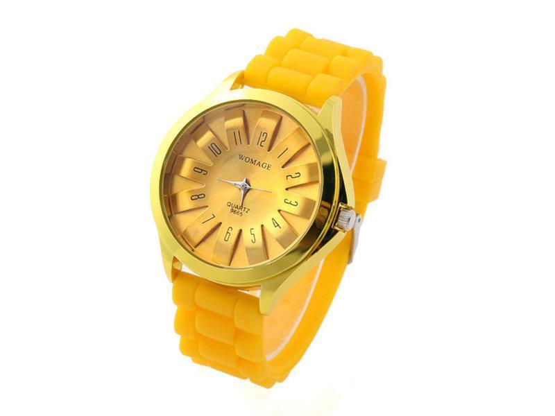 Женские наручные часы Womage, Желтый