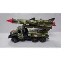Автомодель Зил 131 Вооруженные Силы с ракетой