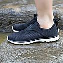 Черные летние кроссовки в сетку 37, фото 3