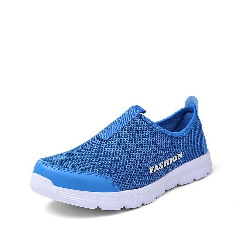 Кроссовки в сетку Fashion 1 Синий 44