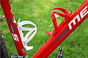 Крепление фляги для велосипеда (флягодержатель), Красный, фото 4