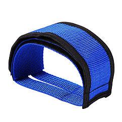 Ремни для педалей (Стрепы) велосипедные, Синий