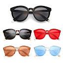 Стильные женские солнцезащитные очки  кошачий глаз Белый хром, фото 9