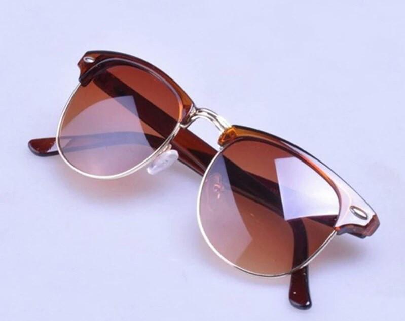 Солнцезащитные очки унисекс клабмастер Коричневый