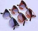 Солнцезащитные очки унисекс клабмастер Коричневый, фото 3