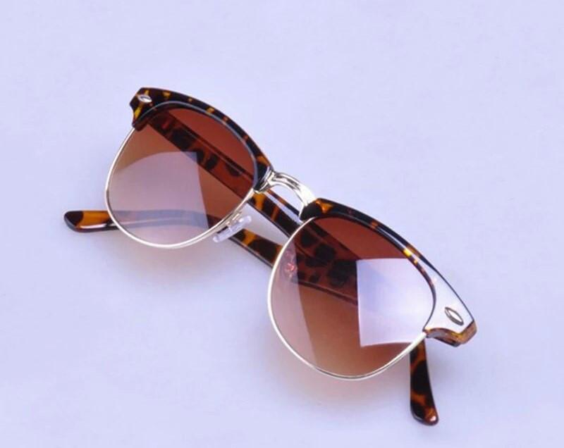 Солнцезащитные очки унисекс клабмастер Леопард