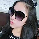 Очки солнцезащитные копия   Miu Miu с металлической дужкой Оранж, фото 4