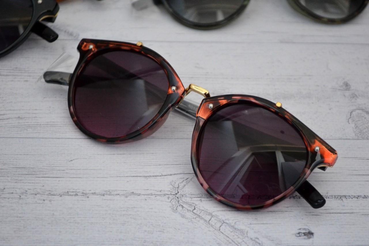 Солнцезащитные очки  круглые унисекс №7