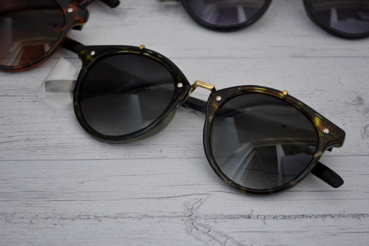 Солнцезащитные очки  круглые унисекс №6