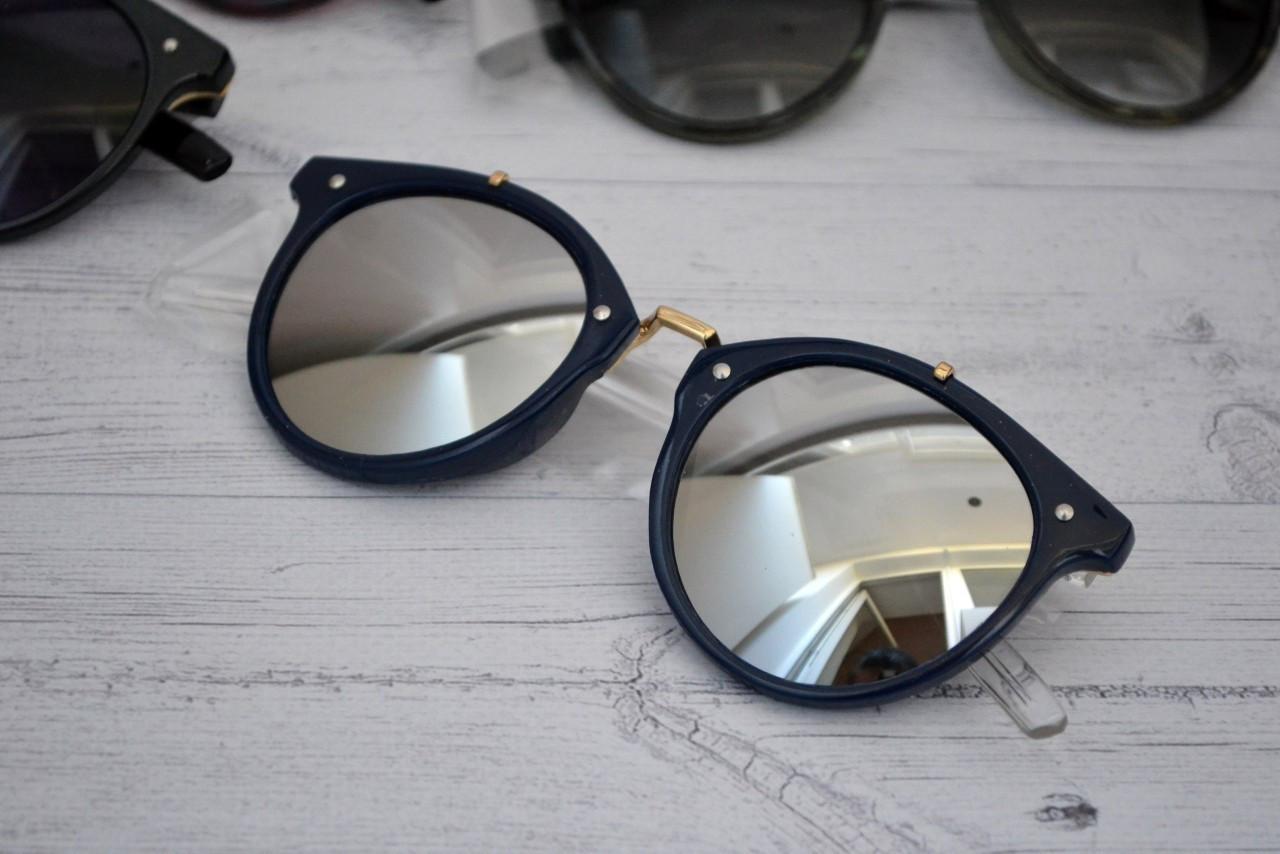 Солнцезащитные очки  круглые унисекс №2