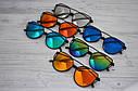 Солнцезащитные  очки копия Диор в пластиковой оправе Сине-зелёный, фото 5