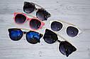 Солнцезащитные очки женские фигурные Чёрный+синий, фото 3