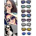 Женские солнцезащитные очки Голубой, фото 4