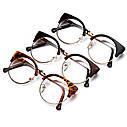 Круглые имиджевые очки в стиле клабмастер Леопард, фото 4
