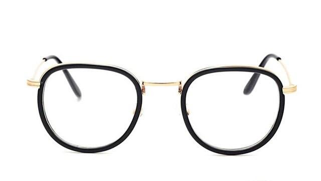 Имиджевые очки  унисекс Чёрный