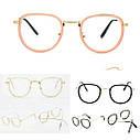 Имиджевые очки  унисекс Чёрный, фото 3