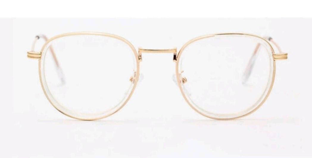 Имиджевые очки  унисекс Прозрачная оправа
