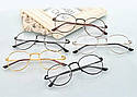 Ретро имиджевые очки Золото, фото 3