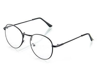 Ретро имиджевые очки Графит